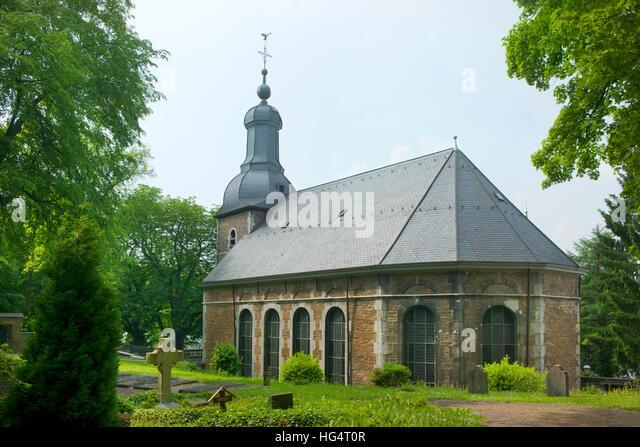 Deutschland, NRW, Städteregion Aachen, Stolberg, Finkenbergkirche der reformierten Christen - Stock-Bilder