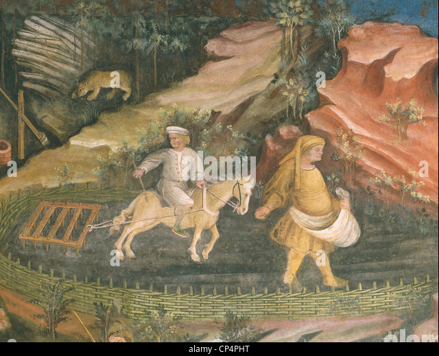 Trento Buonconsiglio Fresco - Stock Image