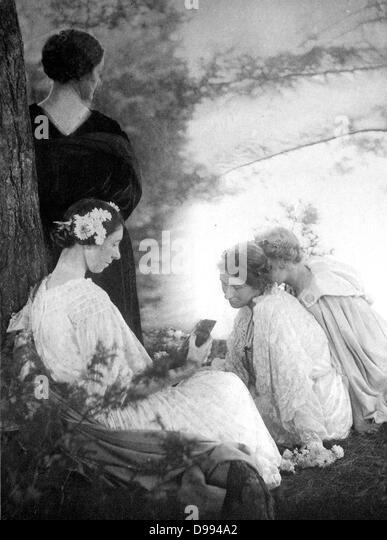 Photograph by Gertrude Käsebier - Stock Image