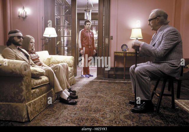 The Royal Tenenbaums, aka: Die Royal Tenenbaums, USA 2001, with Gene Hackman as Royal Tenenbaum and Ben Stiller - Stock Image