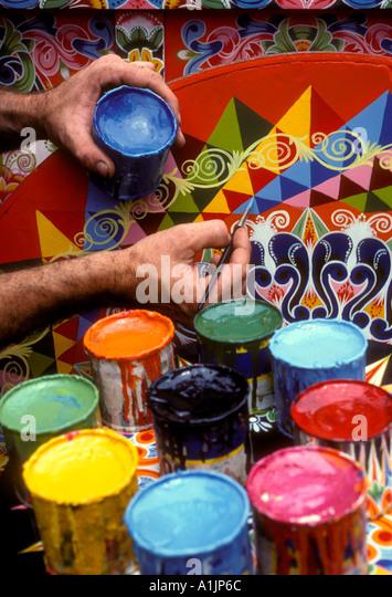 Carretas stock photos carretas stock images alamy for Costa rica arts and crafts