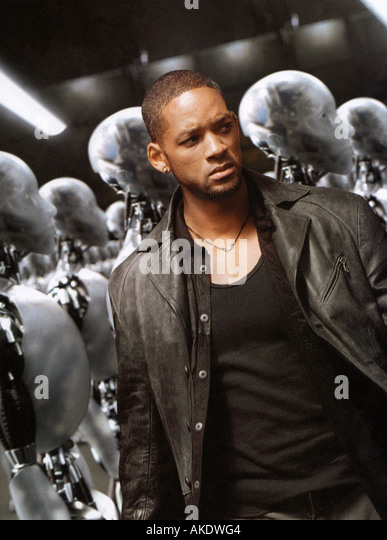 I ROBOT 2004 20th Century Fox film with Will Smith - Stock Image