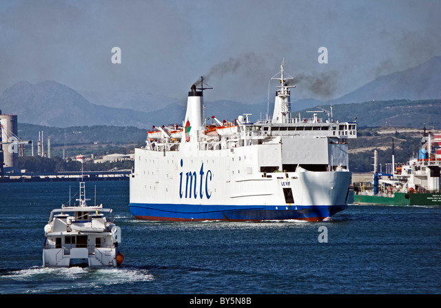 how to get from spain to morocco by ferry