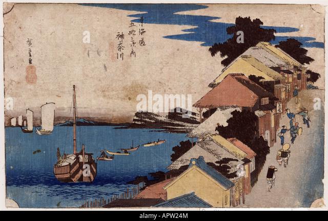 Kanagawa - Stock Image