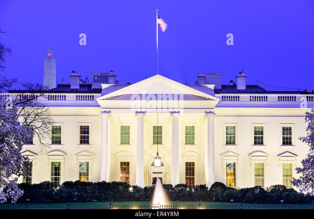 Washington, DC at the White House. - Stock Image