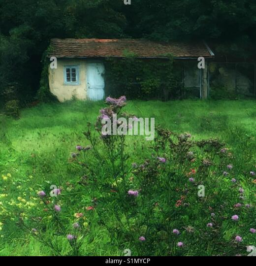 Peaceful countryside setting - Stock Image