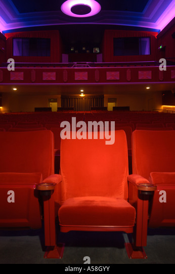 Theater Cinema Seating - Stock Image