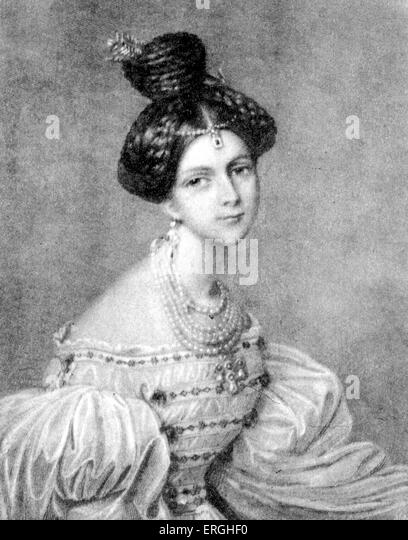 Eliza Radziwill - Polish-Lithuanian aristocrat, 1803 - 1834. Chopin connection. - Stock Image