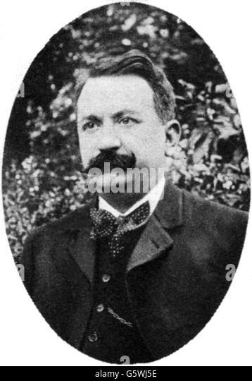 Gaston Doumergue, 1913 - Stock Image