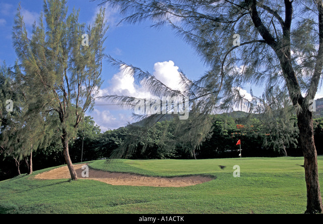 St Lucia Golf Resort & Country Club - Stock Image