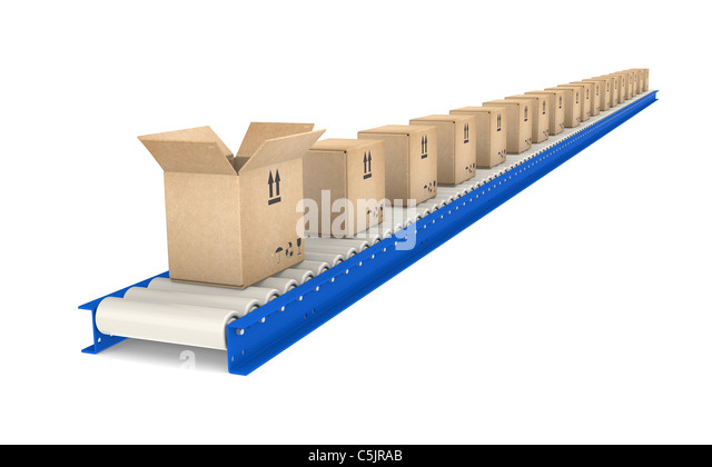 Conveyor belt part 5 and 6