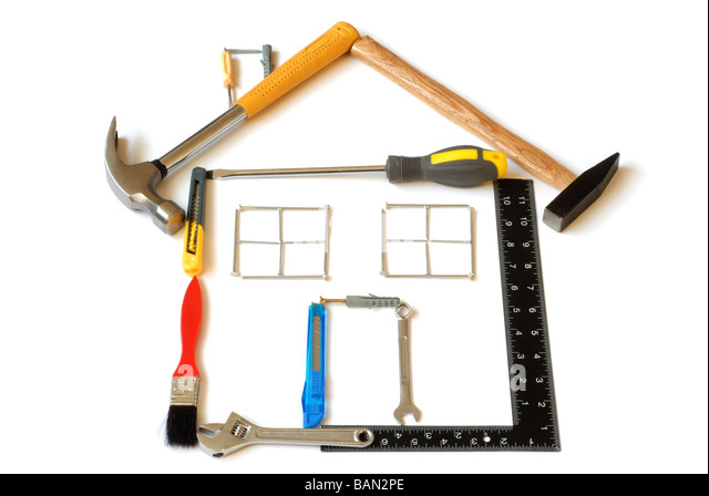 Tools House - Stock Image