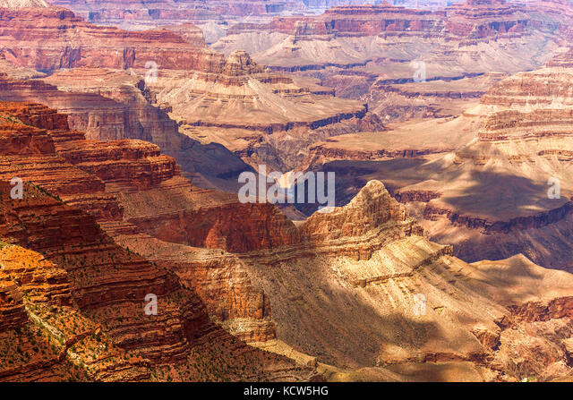 grand-canyon-south-rim-arizona-usa-kcw5h