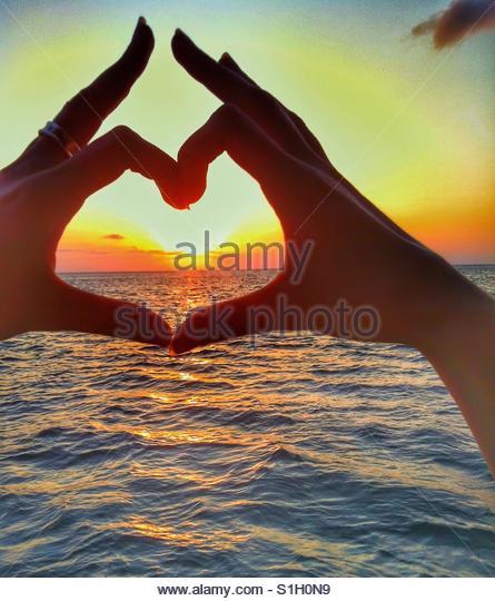 Summer love - Stock Image