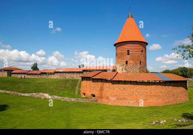 geography / travel, Lithuania, Kaunas, castle, Kauno pilis, Lietuva, Baltics, Baltic area, Baltic states, Baltic - Stock-Bilder