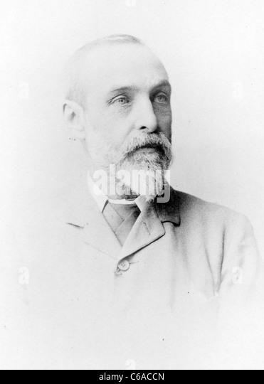 George Nicholson, A.L.S., Kew Gardens curator - Stock Image