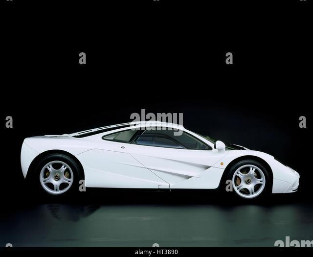 1995 McLaren F1 road car. Artist: Unknown. - Stock Image