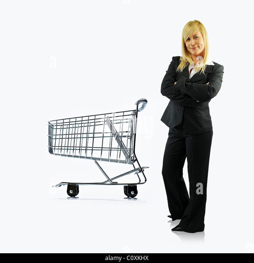 Shop manager - Stock Image