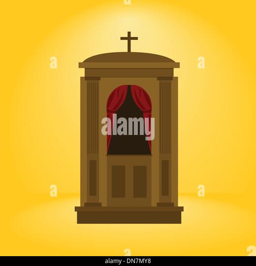 Confession Booth And Catholic Stock Photos & Confession ...