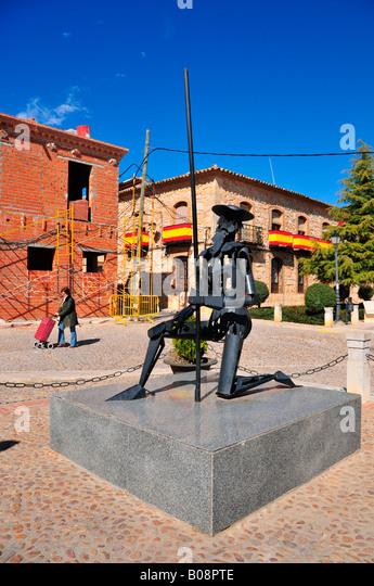 Don Quixote Monument, El Toboso, Castilla-La Mancha region, Spain - Stock-Bilder