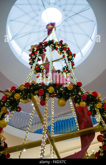 Fortnum mason store london stairs stock photos fortnum - Fortnum and mason christmas decorations ...