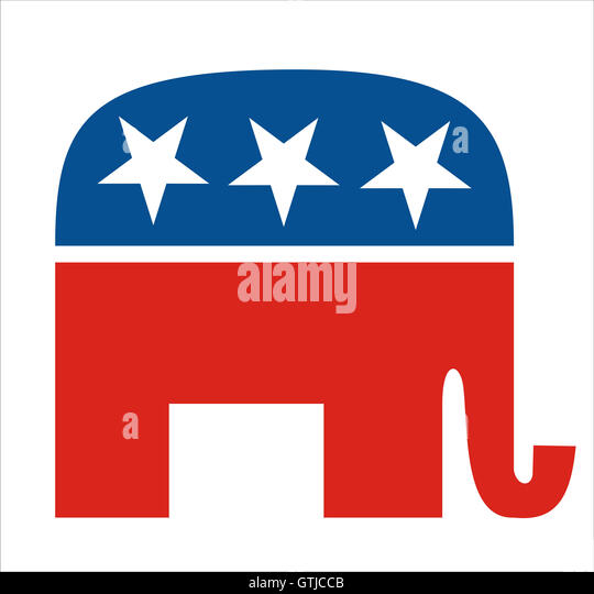 republicans - Stock Image