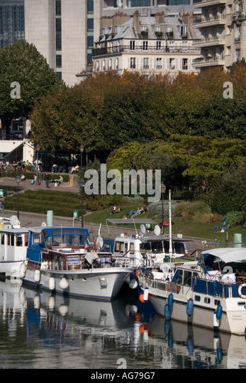 Port arsenal paris stock photos port arsenal paris stock - Port de l arsenal paris ...