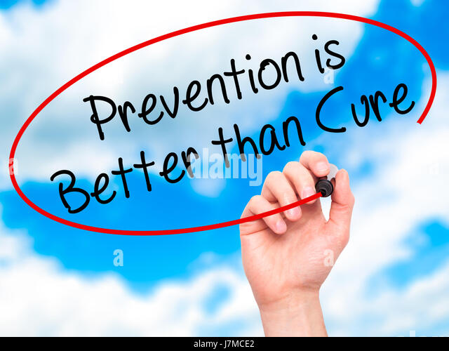 Medicine prevention is better than