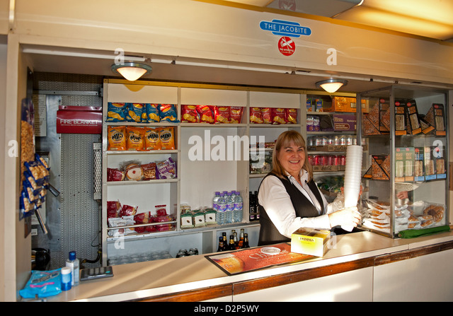 Attendant Food Counter In Canada