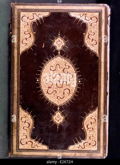 manuscript of the exploits of Suleiman the Magnificent,16th century,Istanbul,Topkapi - Stock Image