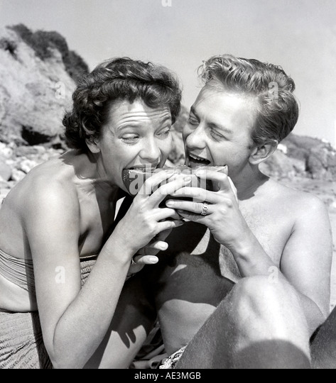 1950s COUPLE - Stock Image