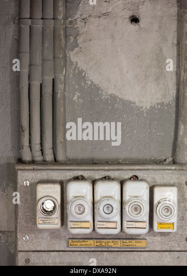 electric fuse box vintage stock photos electric fuse box vintage stock images alamy