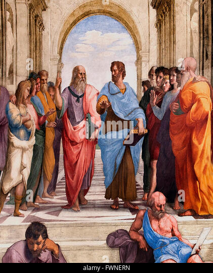 What was the purpose of school of Athens painting?