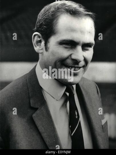 Dec. 12, 1970 - Wilf McGuinness sacked: Photo shows Wilf McGuinness, who has been sacked as manager of Manchester - Stock Image