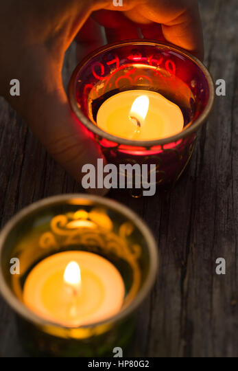 Candles - Stock Image