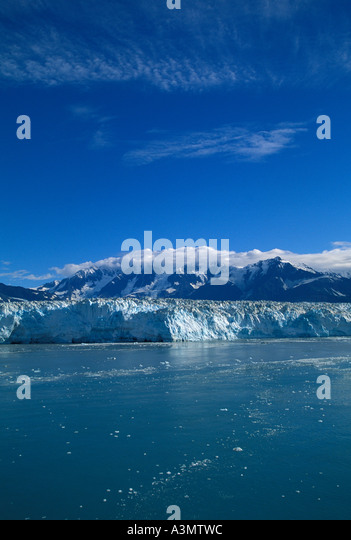 Alaska Hubbard Glacier - Stock Image