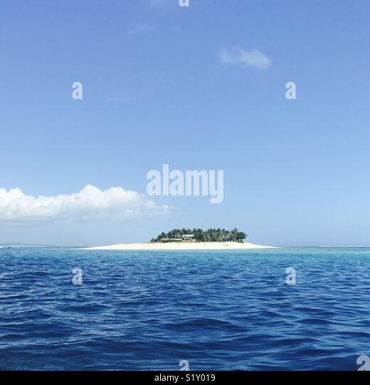 Namotu island. Fiji, South Pacific. - Stock Image