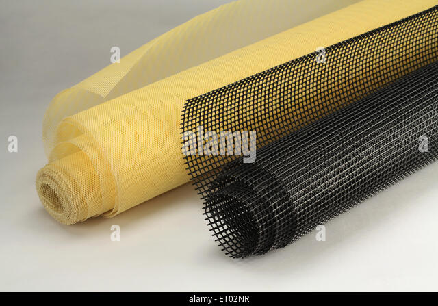 PVC Fencing India Asia - Stock Image
