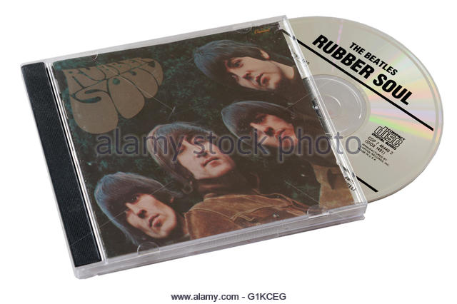 Beatles Rubber Soul CD - Stock Image