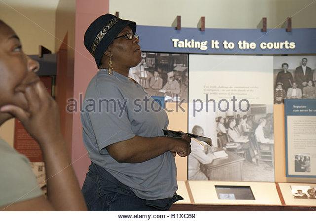 Arkansas Little Rock Central High School National Historic Site 1957 desegregation crisis Black History African - Stock Image