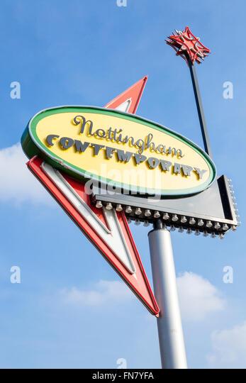 Nottingham Contemporary, Nottingham, England, UK - Stock-Bilder