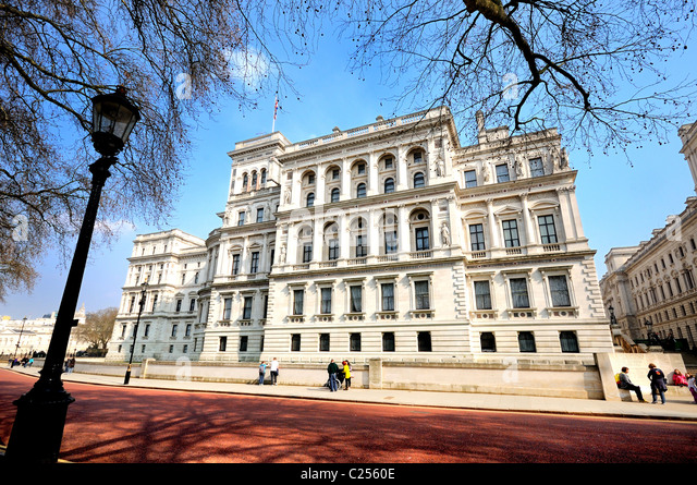 HM Foreign Office building, London - Stock Image