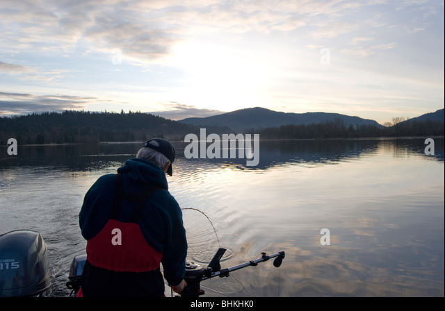 Downrigger stock photos downrigger stock images alamy for Nearest fishing lake
