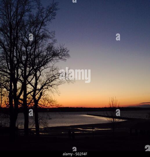 Sundown - Stock Image