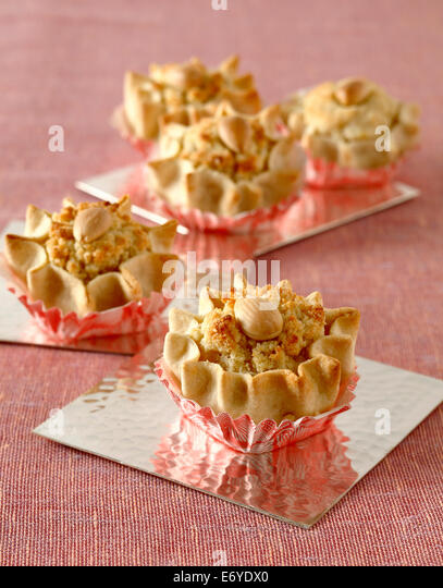Almond Dziriettes from Algeria - Stock Image