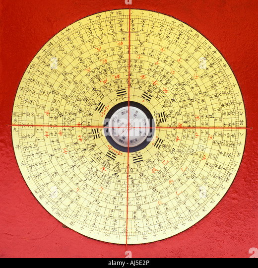 front view of chinese feng shui compass stock image chinese feng shui compass