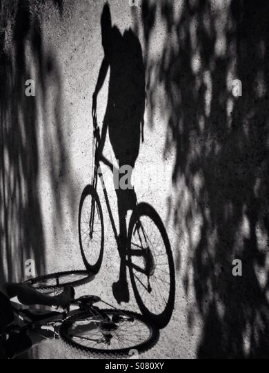 Bicycles may change, but cycling is timeless. - Stock Image
