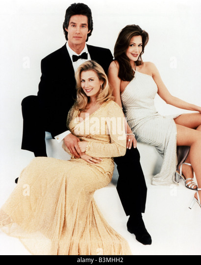 THE BOLD AND THE BEAUTIFUL  US TV series with Ron Moss - Stock Image