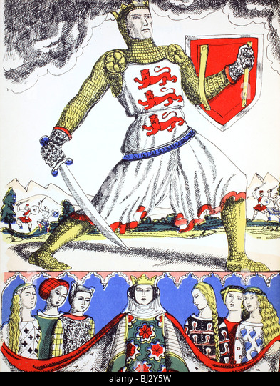 Edward I, King of England from 1272, (1932). Artist: Rosalind Thornycroft - Stock Image