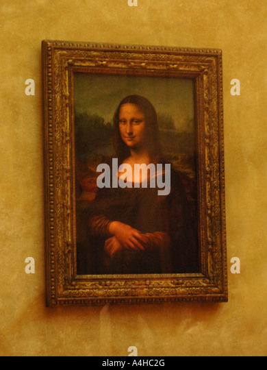 mona lisa stock photos mona lisa stock images alamy. Black Bedroom Furniture Sets. Home Design Ideas